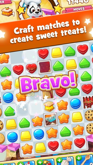 Cookie Jam by Jam City, Inc. (With images) Jam cookies
