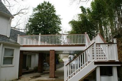 carport deck plans