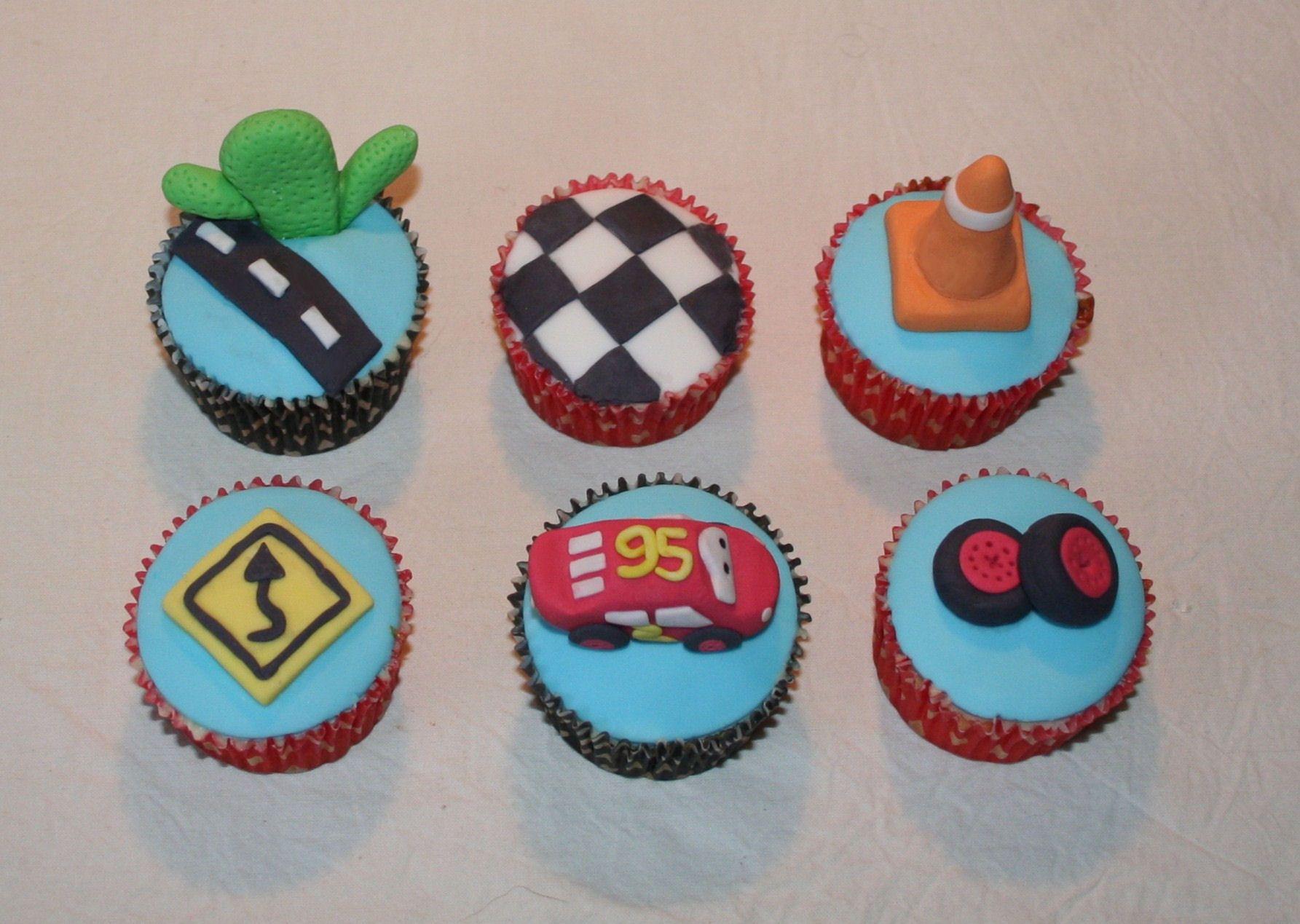 Hotwheels Lightning McQueen Cupcakes Cakes Pinterest