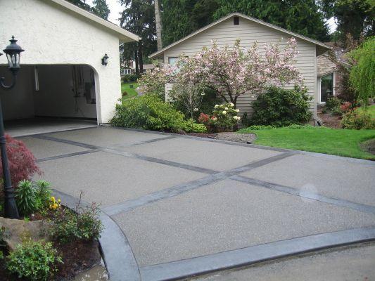 Concrete Patio Cost Per Square Concrete Patio Cost Garden Pavers Cement Patio