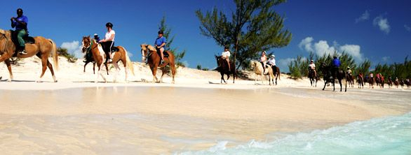 Turks and Caicos, riding on the beach! Did it in my honeymoon!!!