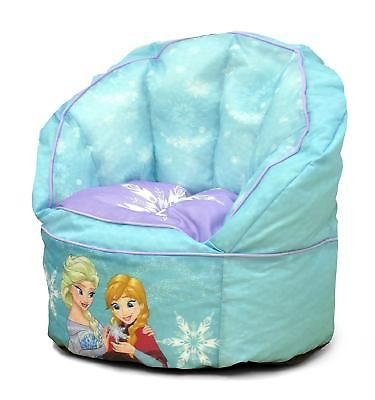 Toddler Bean Bag Chair Frozen Toddler Lounge Seat Furniture Light Blue Bedroom  sc 1 st  Pinterest & Toddler Bean Bag Chair Frozen Toddler Lounge Seat Furniture Light ...