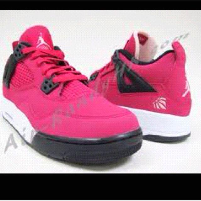 Pink Jordans!