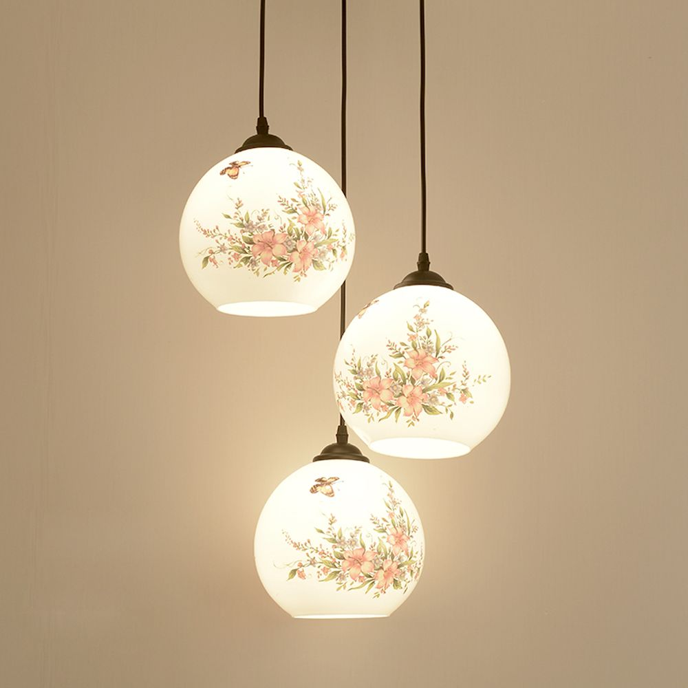 Chinese printing glass dining room pendant light restaurant hanging cheap pendant light fixture buy quality light fixtures directly from china hanging lamp suppliers chinese printing glass dining room pendant light arubaitofo Gallery