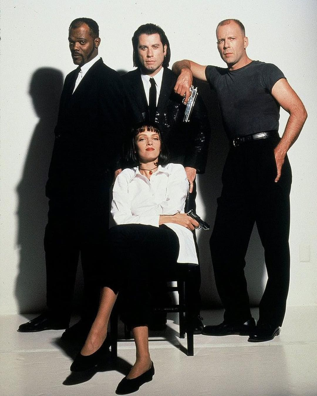The Cast Of Pulp Fiction 1994 Quentin Tarantino Pulp Fiction Pulp Fiction Director Tarantino Pulp Fiction