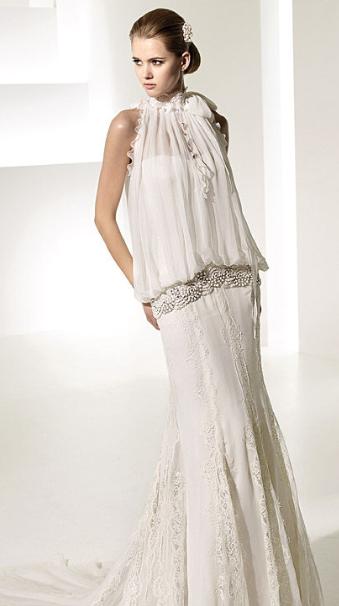 Vestido novia charleston