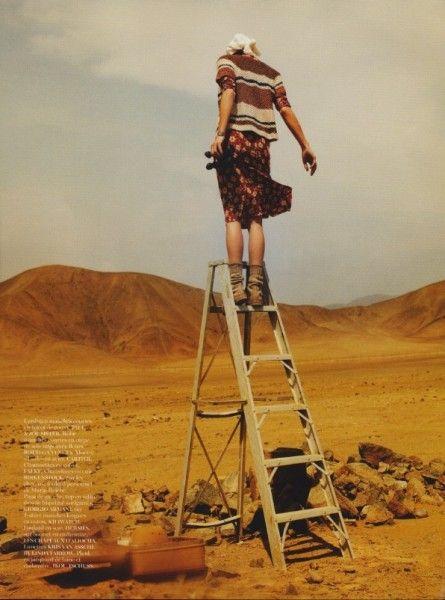 Paris Vogue & model Erin Wasson on location in Peru | Keep it Chic - Preston Davis