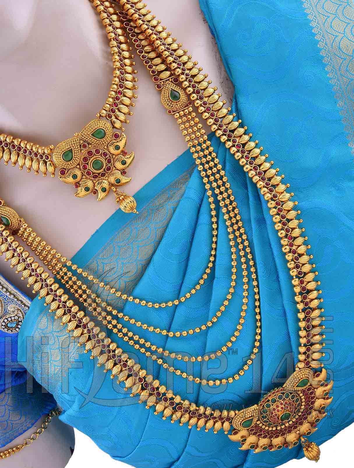 Antique Bridal Jewellery Set for Bride