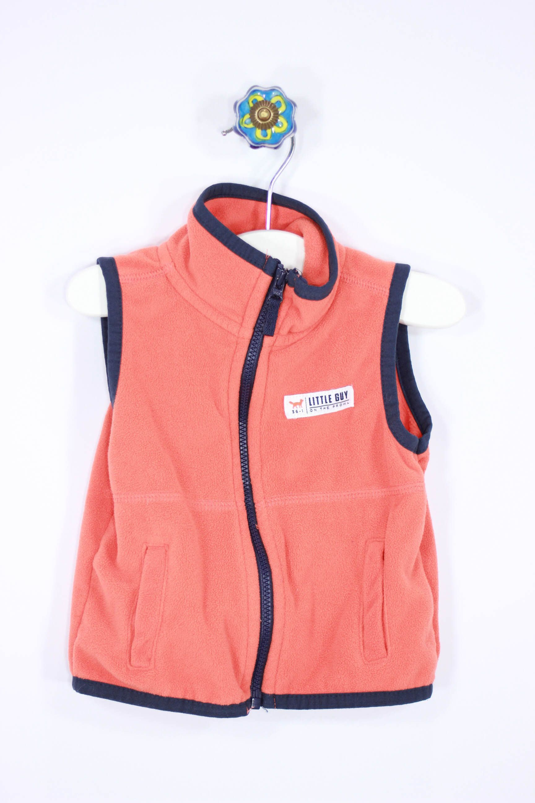 Carter's Size 9M Fleece Vest