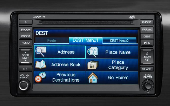 The Available Honda Satellite Linked Navigation System™ With Voice  Recognition Helps You Get Practically