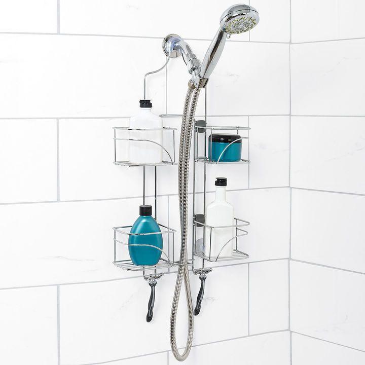 ZENNA HOME Zenna Home Expandable Over the Shower Door Caddy ...