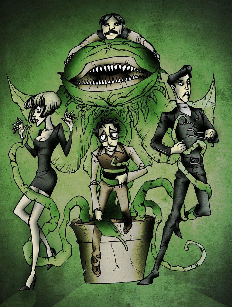 Little Shop of Horrors by RustyArm on DeviantArt Little