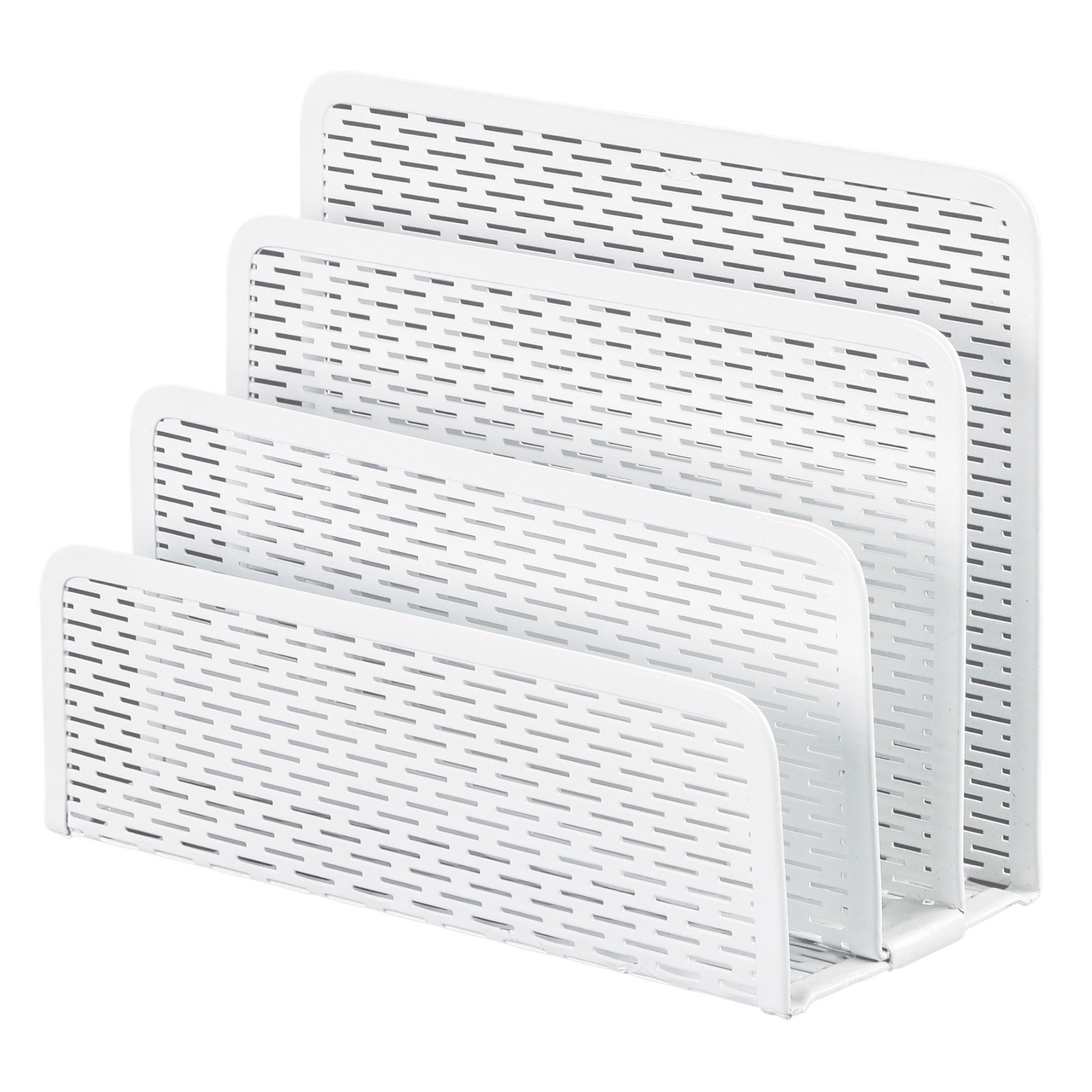 Artistic Urban Collection Punched Metal Letter Sorter, 6 1