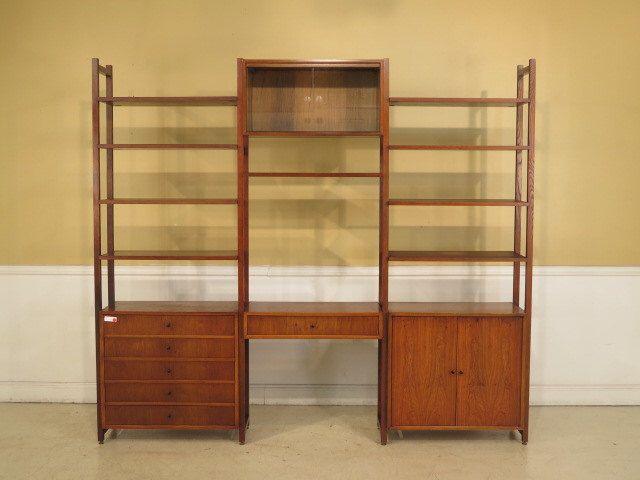 f39760e drexel mid century modern bookshelf wall unit by on etsy https