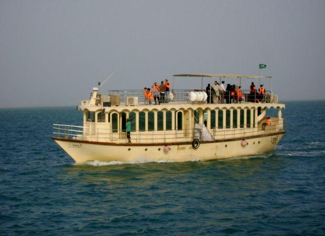 Boat Sailing at Marina, Al Fanateer, Jubail, K.S.A.