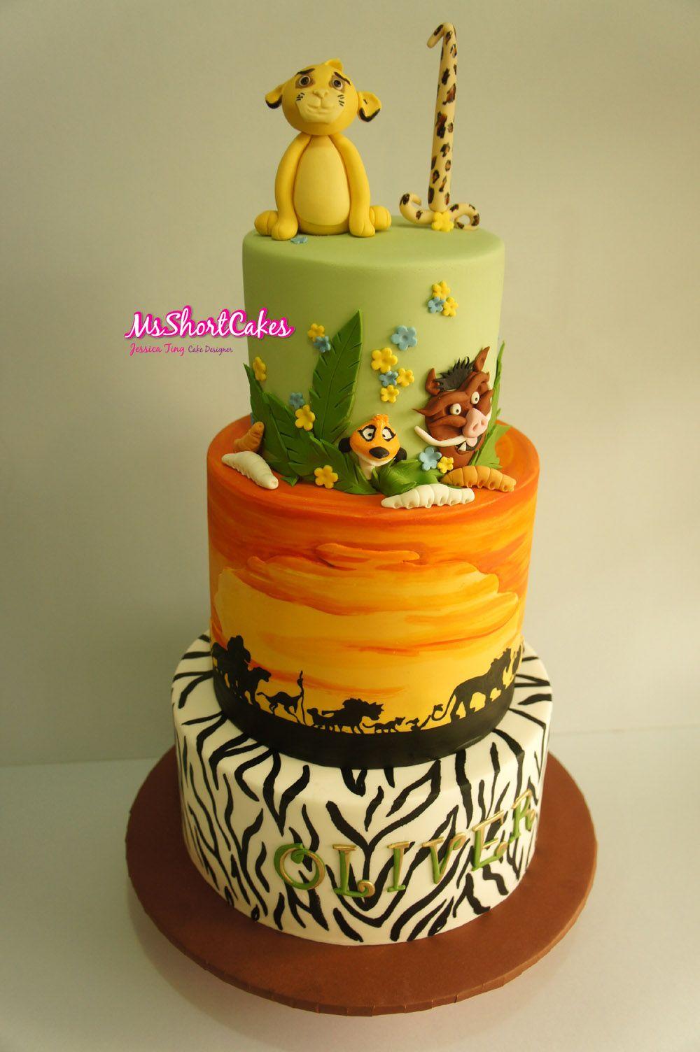 A Blog About Cake Decorating Motherhood Food Baking - Lion King Wedding Cake