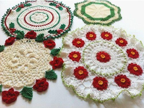 Maggie's Crochet · Vintage Christmas Doilies Crochet Pattern