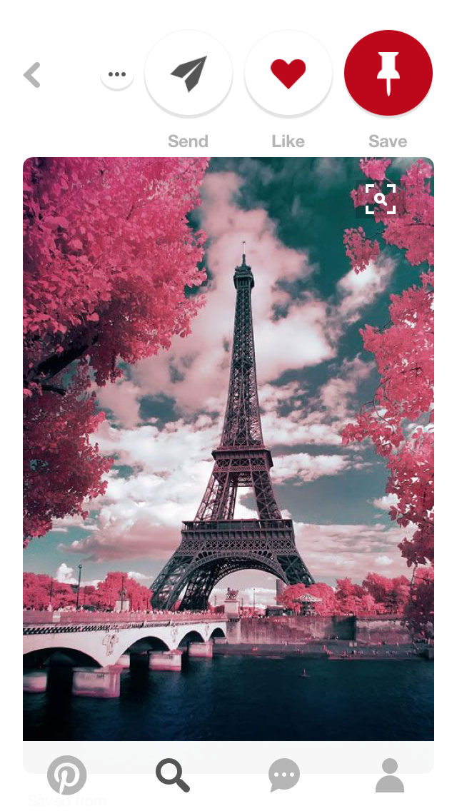 Eiffel Tower In Spring Eiffel Tower Pinterest Paris Paris