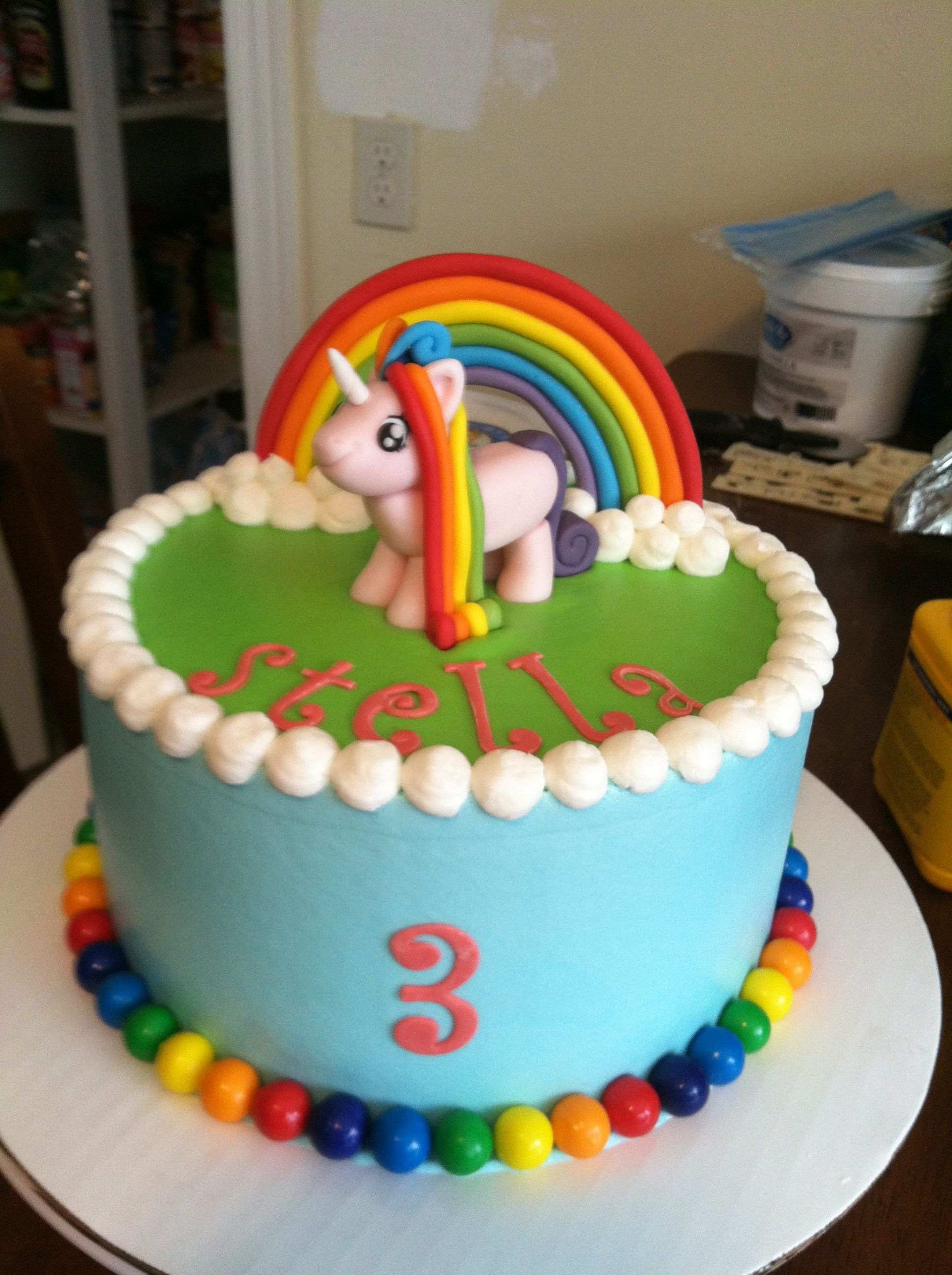 This Is My Sweet Baby Girl S 3rd Birthday Cake All We
