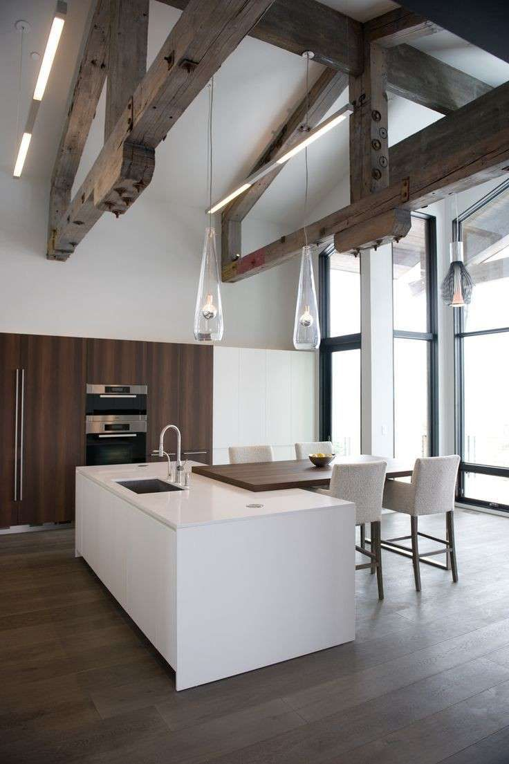 Arredare Una Cucina Bianca Modello Di Cucina Contemporanea Cucine Bianche Moderne E Cucine Contemporanee