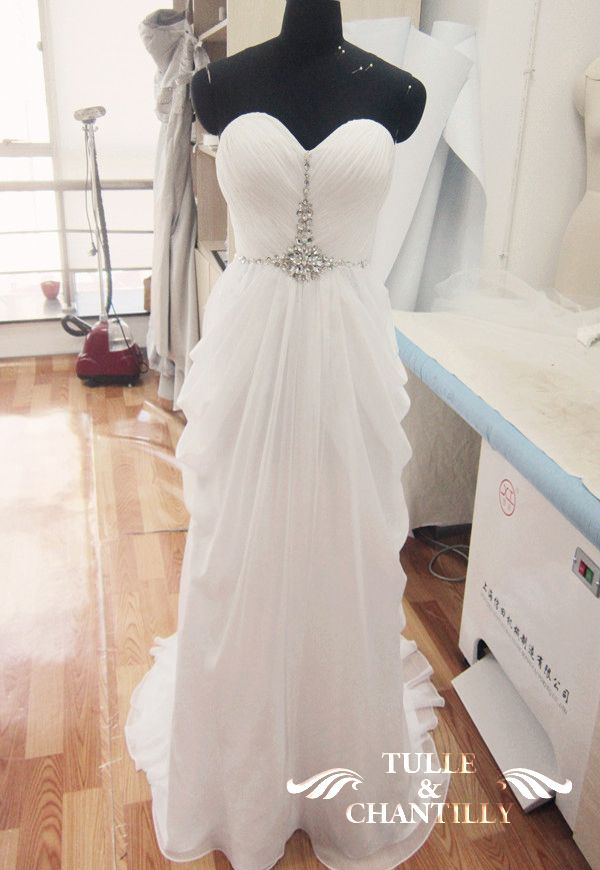 eed12fa9f9f  Process Show Time  Seductive Strapless Ruching Beaded Evening Dress with  Elegant Draped Skirt