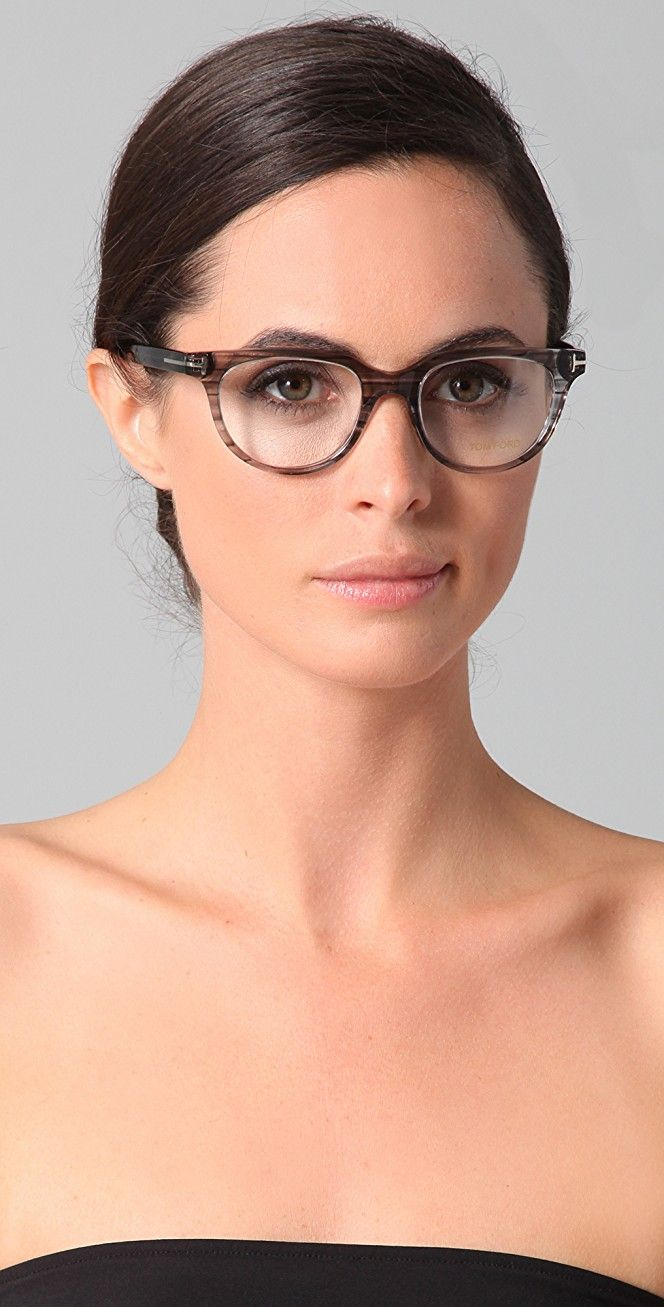9a29c1d6fc6 Tom Ford Eyewear Notched Glasses