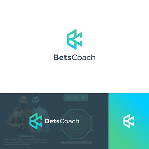 Monogram Logo Combination B C Logo Represented The Name Of Bets Coach Tech Color Palette And Geometry Shape Add Spo Tech Branding Tech Humor Ultrasound Tech