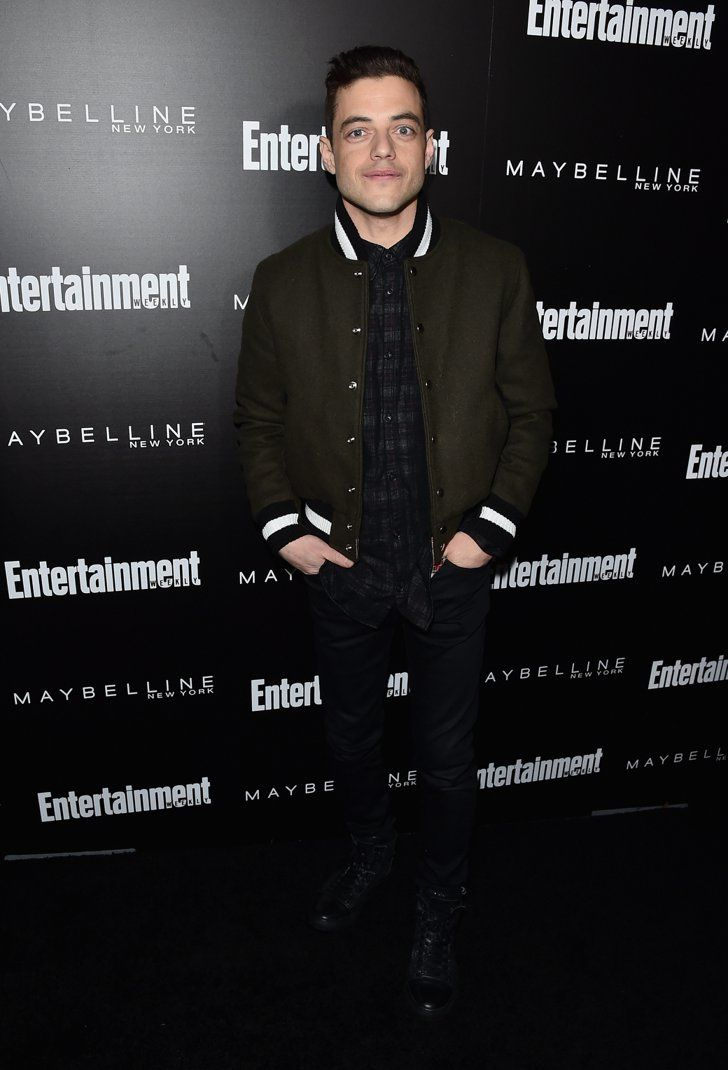 Pin for Later: The Cast of Orange Is the New Black Stepped Out in Full Force at This Pre-SAG Awards Bash  Pictured: Rami Malek