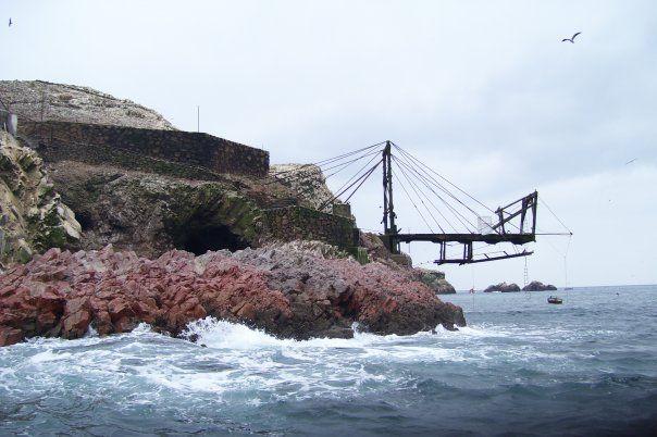 Pisco Peru. Ballestas Island