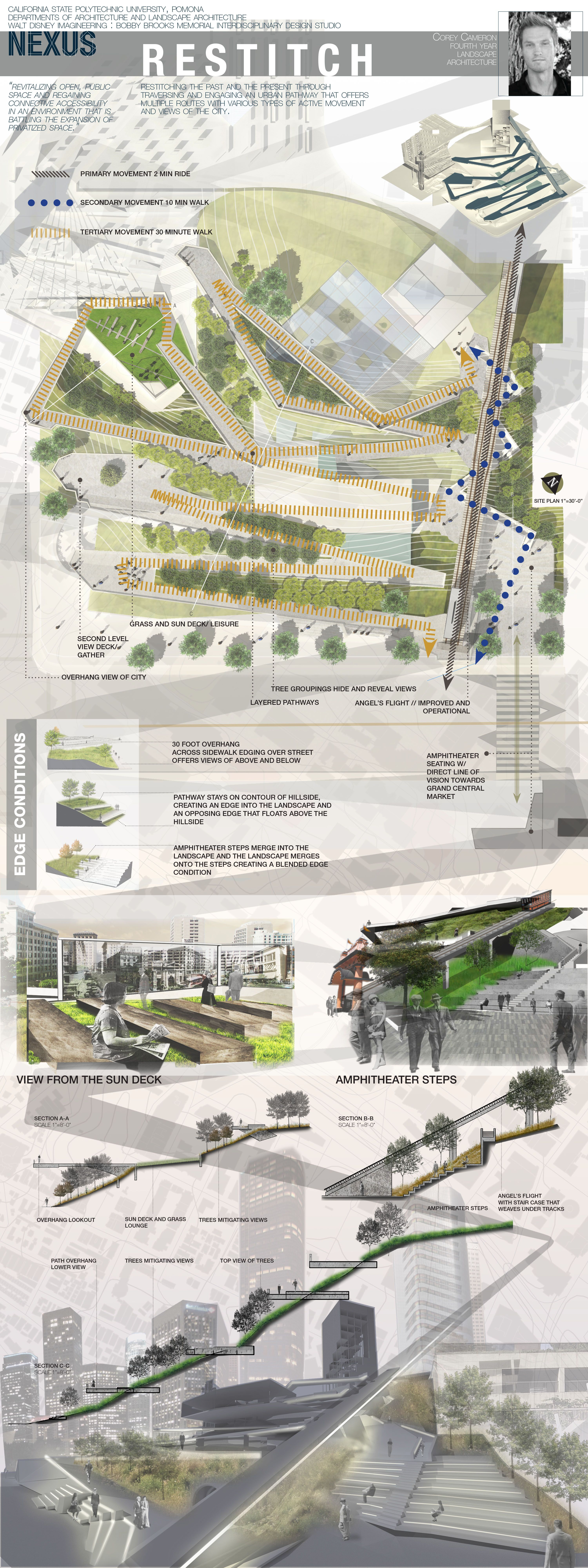 Cal poly pomona 4th year student landscape architecture design boards 2015 student work for Cal poly pomona interior design