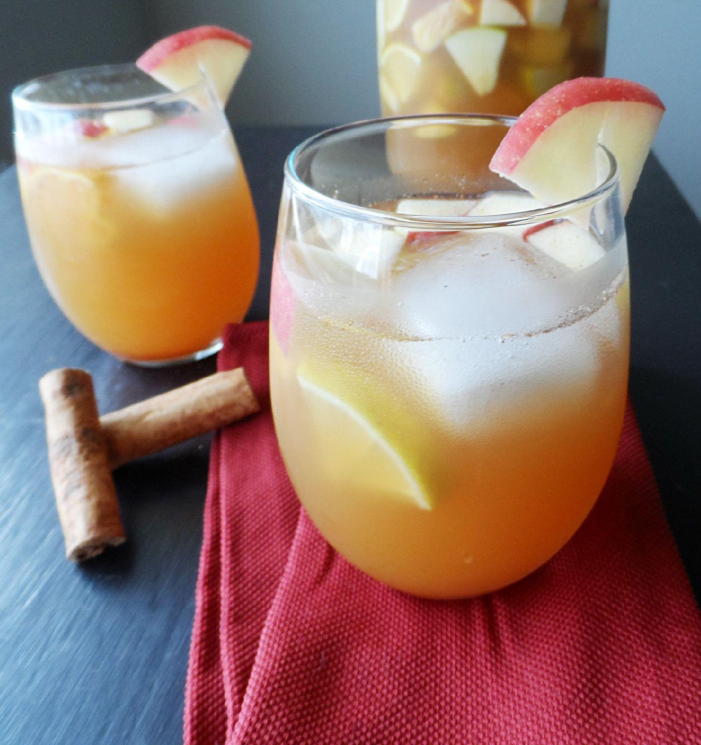 Apple Cider Alcoholic Drinks: Apple Cider Sangria 1 Apple 1 Pear 1 Orange 1 Lemon 1