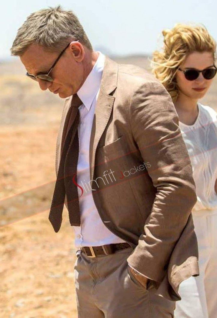 Berühmt Spectre James Bond (Daniel Craig) Brown Suit in 2018 | men's @VC_82
