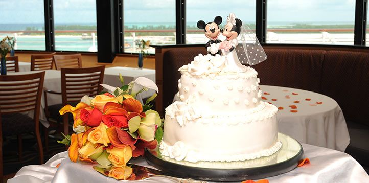 Disney Cruise Wedding Cake Champagne Line Weddings