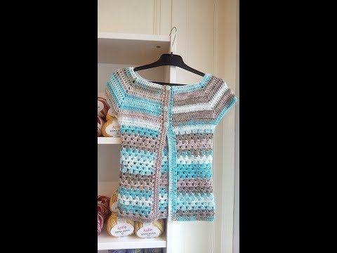 crochet ou tricot vest femme pour été youtube