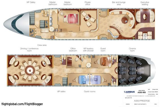 Private Jet Interior Floor Plan Pimp My Prestige Flightblogger Aviation News Commentary And