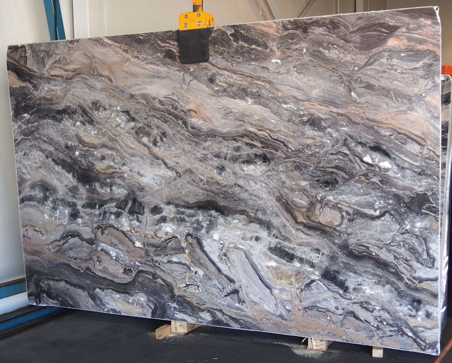 Grigio Orobico Marble Sold By Milestone Marble Size 112 X 71 X 3 4 Inches Stone Slab Marble Granite Stone