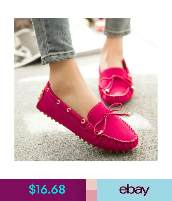 Womens Loafers Ladies Casual Suede Moccasin Sneakers Boots Slip On Flat Shoes