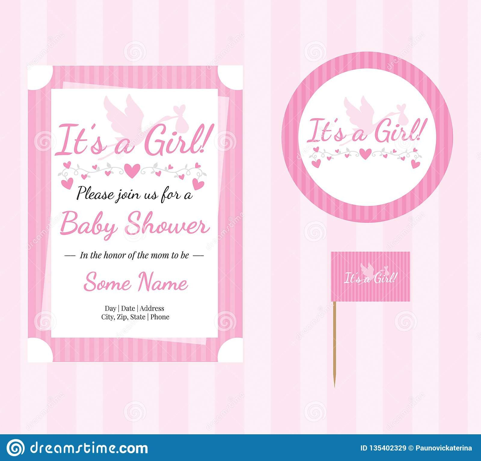 Princess Crown Invitation Template Elegant Baby Shower Baby Girl