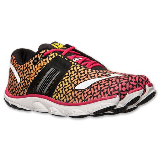 Women's Brooks PureConnect 4 Running Shoes - 1201761B 587 | Finish Line |  Raspberry/Sun