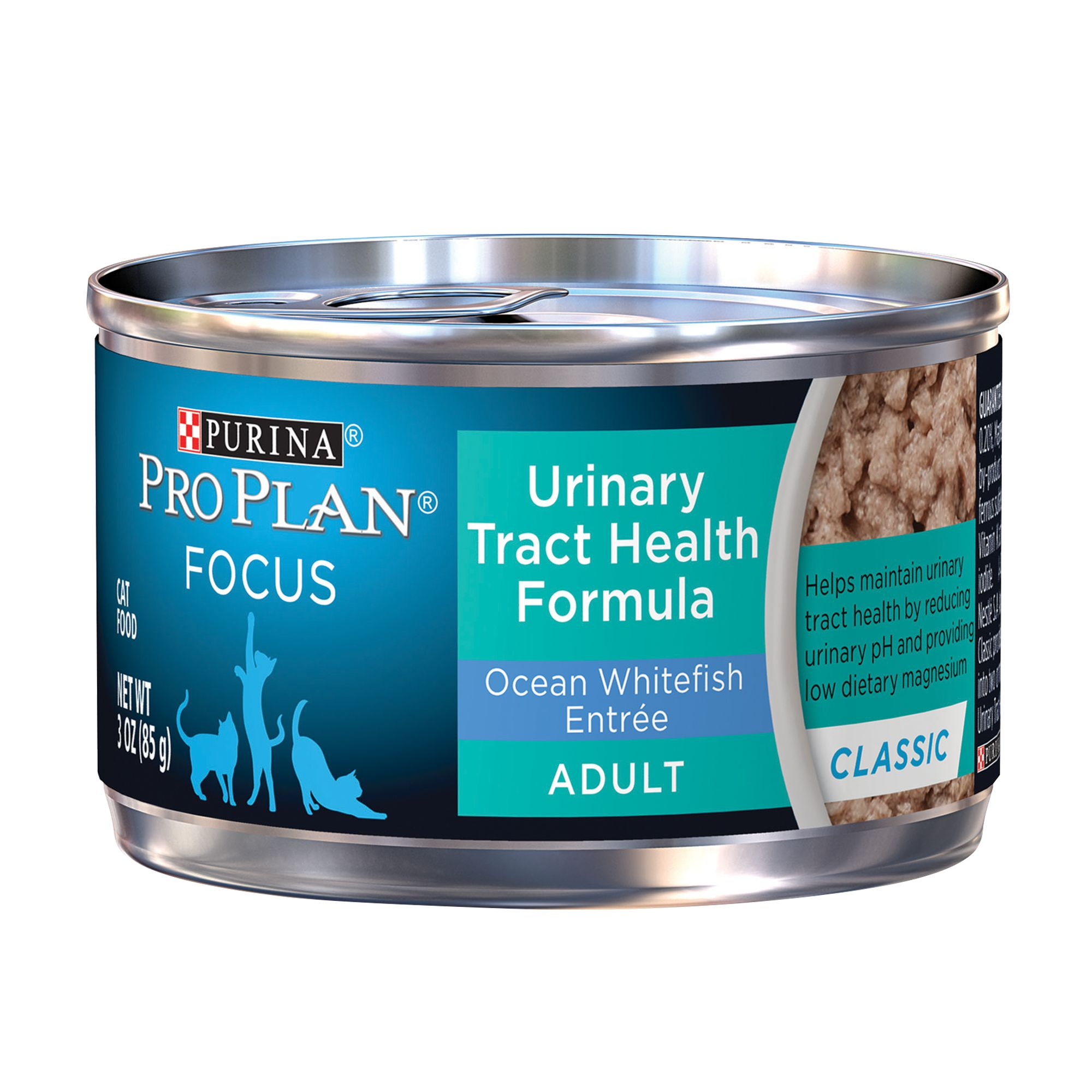 Purina Pro Plan Focus Adult Cat Food Urinary Tract Health Ocean