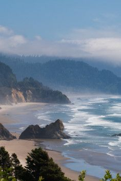 Oswald West State Park Never Camped Here But I Hear It S Big Enough To Camp For A Week Without Getting Oregon Coast Camping Oregon Scenery Oregon Road Trip