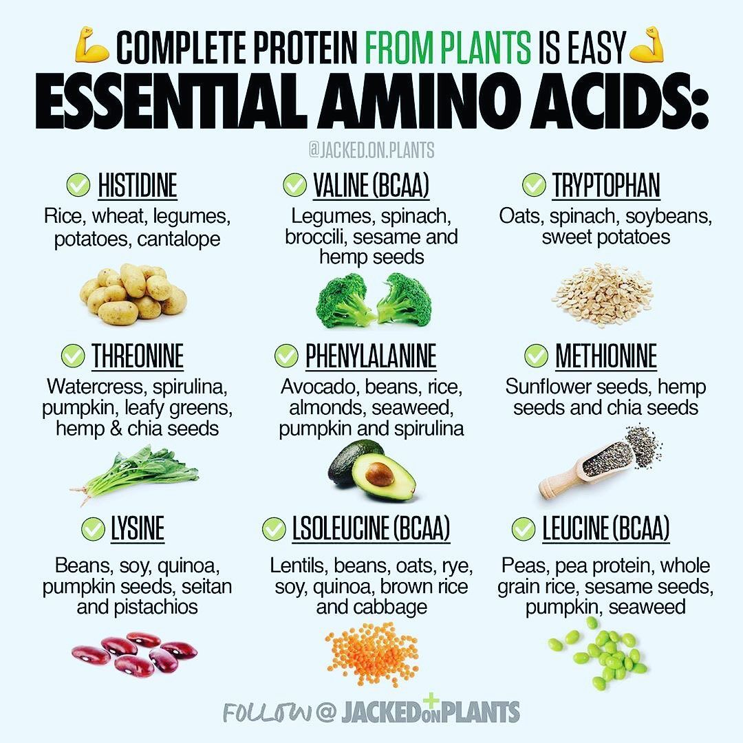 Follow Fruitful Fitness For A Dose Of Plant Strong Information Follow Fruitful Fitn Amino Acids Food Vegan Nutrition Nutrition Facts
