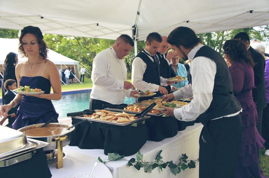 Buffet Service: An examples of guests serving themselves | Catering services, Catering, Service