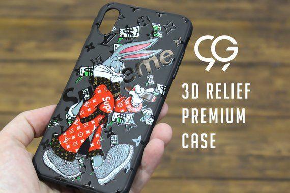 2422e601 hypebeast Bunny Designer Marble iphone case iPhone X case iPhone XS ...