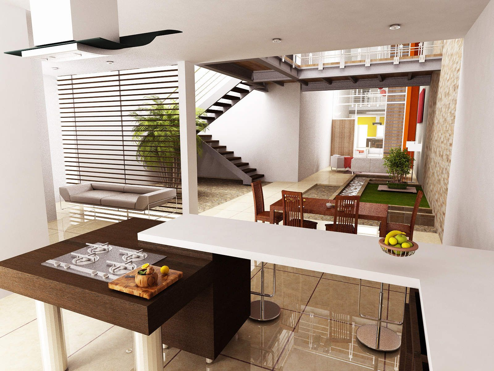 Kitchen Dining Living, Kitchens, Dining Rooms, Models, Searching,  Architecture