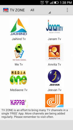Zan Live Tv Free Android App latest apk download | Download