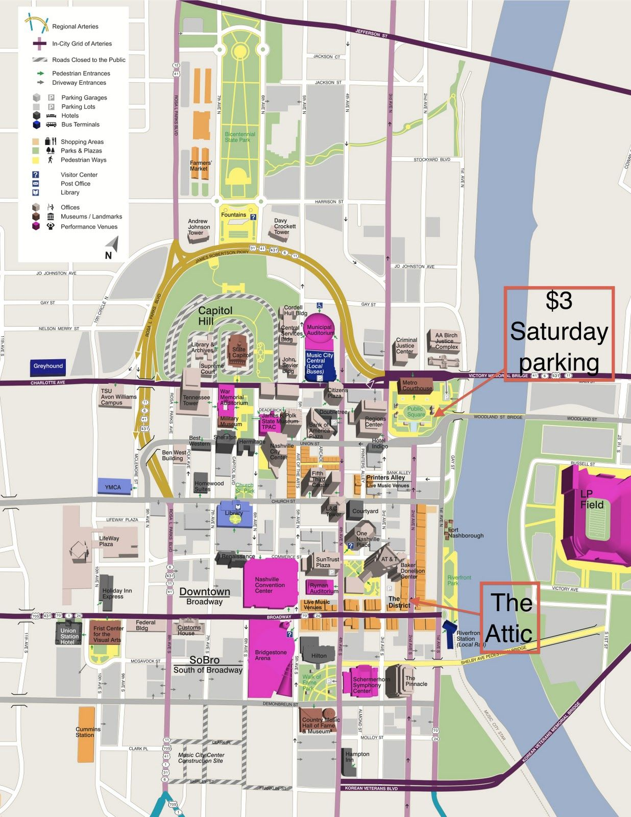 map of downtown nashville. map of downtown nashville  posted by efay at  am no comments