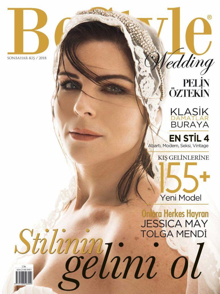 Pelin oztekin bestyle wedding magazine turkey january