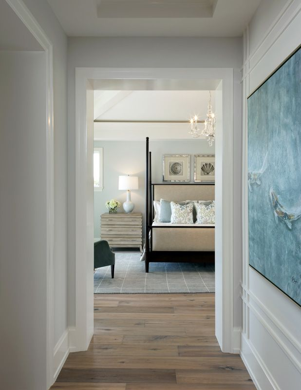 Coastal Contemporary Bedroom Clic