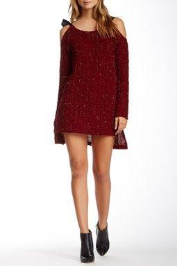 Covet Cold Shoulder Dress